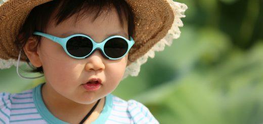 okulary przeciwłoneczne dla dzieci